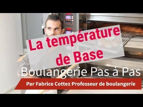 Boulangerie Pas à Pas N°8: La Température de Base. CAP boulanger