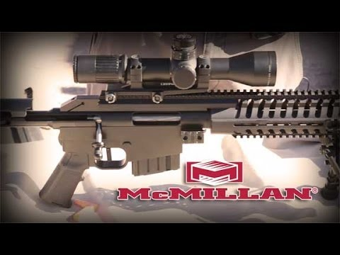 McMillan CS5 .308 Suppressed Sniper System