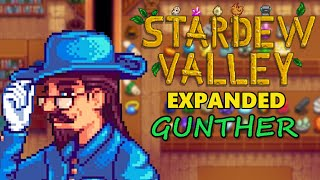 Stardew Valley Expanded Mod - Gunther