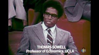 Free To Choose – Milton Friedman on The Welfare System (1978) | Thomas Sowell