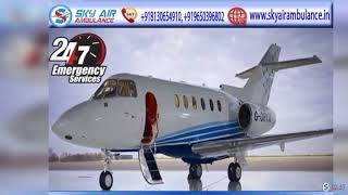 Sky Air Ambulance from Kolkata 24x7 with Medical Treatment