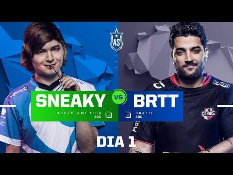 Sneaky x brTT (All-Star 2017 - 1x1)