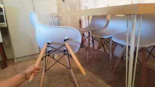 ELERANBE Eames Eiffel Dining Chairs Review By Unicorn Momma