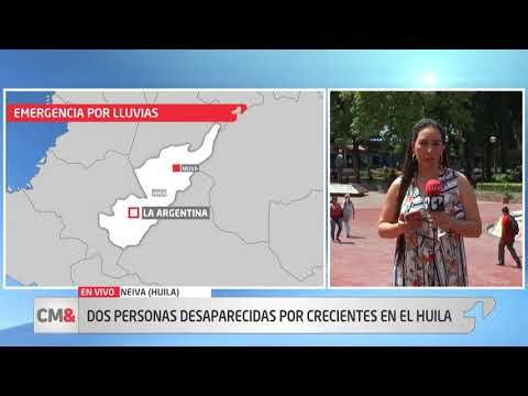 Avalancha deja dos personas desaparecidas en Huila
