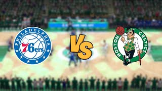 Philadelphia 76ers vs. Boston Celtics - 2020 NBA First Round Playoffs! - Full Gameplay