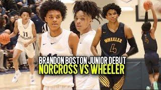 Brandon Boston & Norcross Face Off Against HUNGRY Wheeler Squad in Season Opener at OTR Tip Off