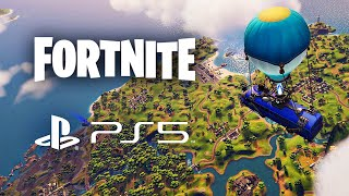 Fortnite First Look Playstation 5 Gameplay! (Fortnite PS5)