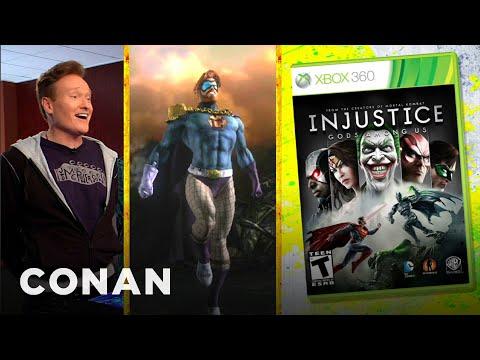 Conan recenzuje hru Injustice: Gods Among Us