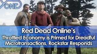 Red Dead Online's Throttled Economy is Primed for Dreadful Microtransactions, Rockstar Responds