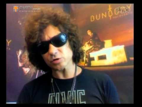 Enrique Bunbury video Entrevista Webcam Palosanto  - 16 10 2013