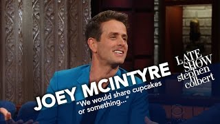 Joey McIntyre Gives Stephen A New Kids On The Block Dance Tutorial