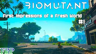 Biomutant - First Impressions and Gameplay showcase - Part 1 of 2