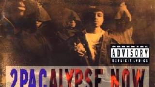 2Pac - Crooked Ass Nigga [2Pacalypse Now]