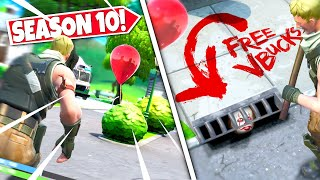 new creepy floating balloon found confirming scary it clown is hiding in game season 10 update