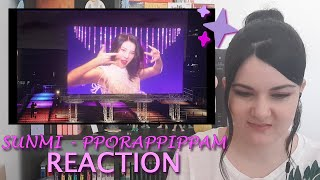선미(SUNMI) - 보라빛 밤 (pporappippam) MV REACTION en français