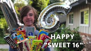 How To Make A Sweet 16 Candy Bouquet