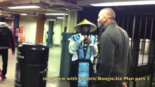 Electric Boogie NYC Popping Style interview with Ice Man