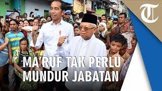 KPU Sebut Maruf Amin Tak Wajib Mundur dari Bank, Tim Hukum BPN: KPU Tak Mampu Jawab Pelanggaran