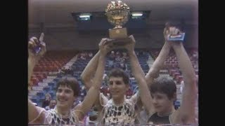Mount View vs Gorham 1987 boys basketball Class B State Championship
