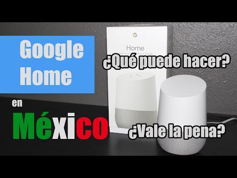 Google Home Unboxing | Reseña en México