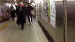 神田駅JR山手線・京浜東北線から銀座線への乗り換えHowtotransfertoGinzaLinefromYamanote,KeihintohokuLine