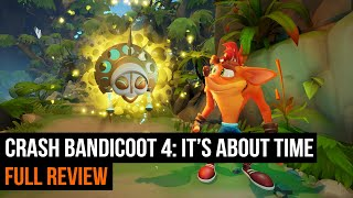Crash Bandicoot 4: It's About Time | FULL REVIEW