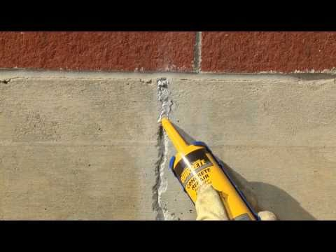 Repairing Cracks In Vertical Surfaces