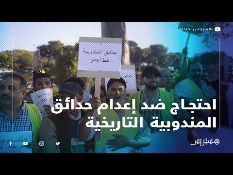 ساكنة طنجة تحتج ضد قرار إعدام حدائق المندوبية التاريخية وتحويلها إلى مرآب