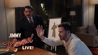 Jimmy Kimmel & Guillermo Pitch Ideas to Star Wars Director Rian Johnson