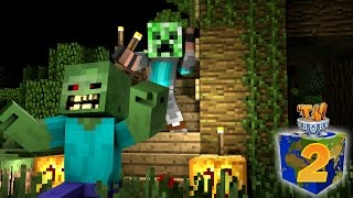 Welcome to Season 2 of my Minecraft Survival Let's Play! In this episode, I put on an awesome resource pack that has Halloween costumes like a ghost, the Hea...