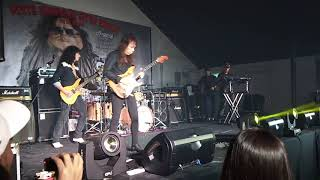 Yngwie malmsteen tribute by Joe burnmark, sail of charon  inpiration album, live in kl