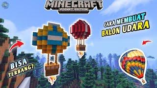 Cara Membuat Balon Udara KEREN Minecraft Tutorial...