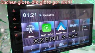 Bislang das beste 2DIN Universal-Radio XZENT X-522