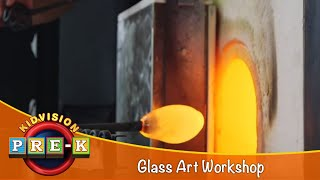 How To Make Glass Art   Glass Art Field Trip   KidVision Pre-K