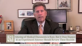 Is it Possible My Doctor Altered My Medical Records After My Treatment? Ohio Attorney Bill Hawal