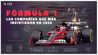 ¿Qué equipo de #F1 realizó la mayor inversión en 2020?