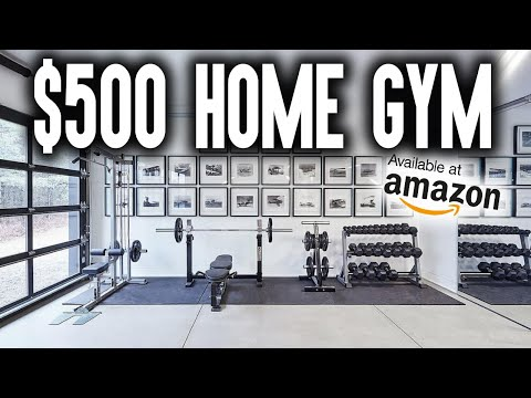 , title : 'How to BUILD a $500 HOME GYM on AMAZON