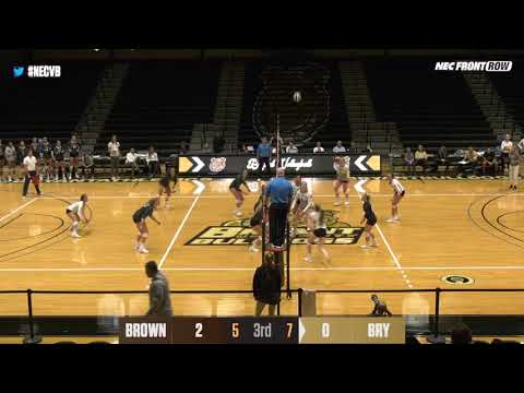 Highlights: Volleyball Sweeps Bryant for Sixth Straight Win