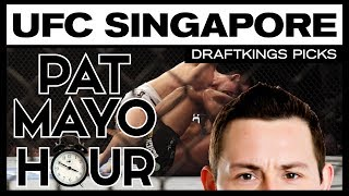 DFS MMA: UFC Fight Night Singapore DraftKings Picks & Preview