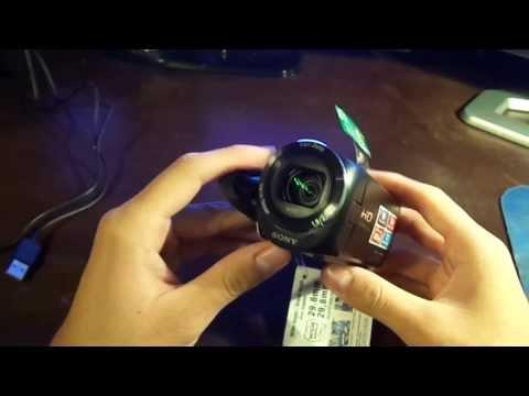 Camara de video Sony HDR CX220 (Unboxing Black friday edition)