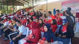 Aries Susanti dan Atlet Asian Games 2018 Asal Jawa Tengah Lainnya Dikirab Keliling Kota Solo