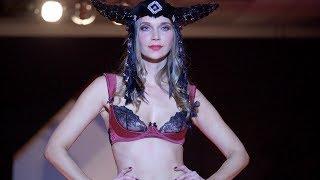 BLACK SECRET - SEXY LINGERIE Körpernah Event Berlin Nov 2017 in 4K