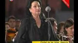 Montserrat Caballe canta el Padre Nuestro