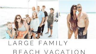 Large Family Vacation To Florida | Traveling With Lots Of Kids | Car Trip