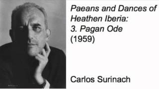 Paeans and Dances of Heathen Iberia: III. Pagan Ode