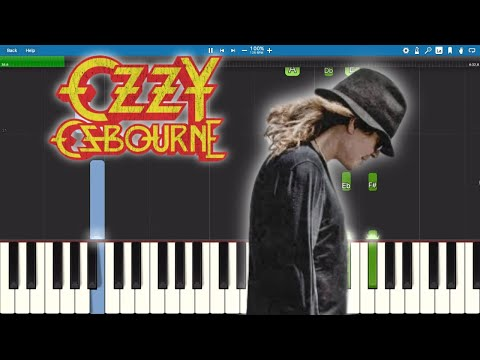 Ozzy Osbourne ft. Elton John - Ordinary Man - Piano Tutorial