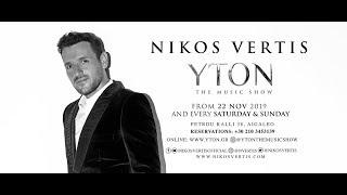 Nikos Vertis @ YTON the music show 2019-2020
