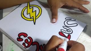 Dibujos De Ninos: Dibujos Para Marcar Cuadernos Faciles