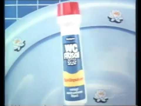 WC Frisch Sprühpulver Werbung 1970