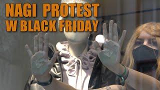 """TW Nagi protest w sklepie znanej sieciówki. """"Sprzeciwiamy się kapitalizmowi i #BlackFriday """""""